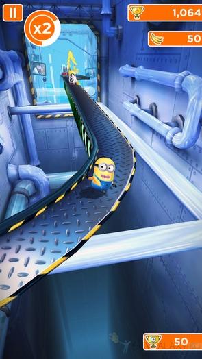 Игра Minion Rush - круглая дорога