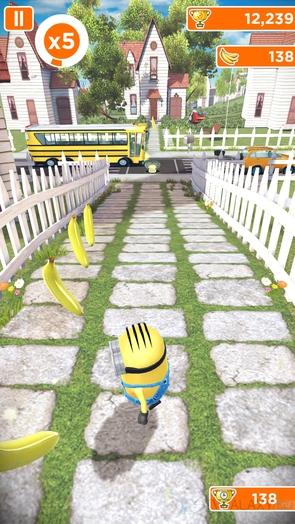Игра Minion Rush - забег по городу