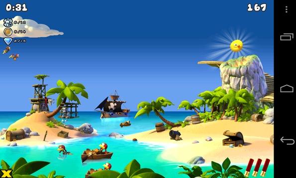 Игра Moorhuhn Pirates для Samsung Galaxy S4