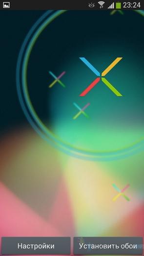 Nexus X - живые обои