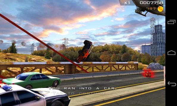 Redline Rush 3D - авария