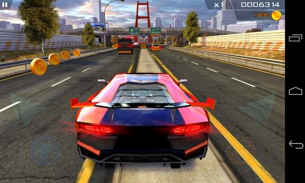 Redline Rush 3D - гонки и раннер для Galaxy S4