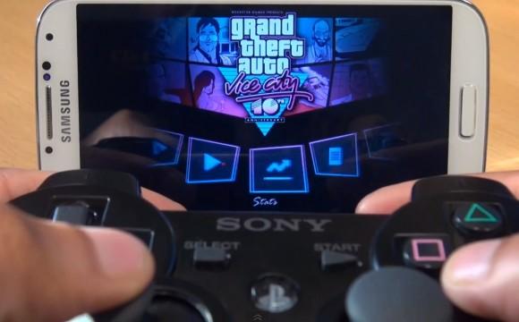 Как подключить джойстик от PS3 к Galaxy S4