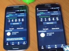Тест AnTuTu: Galaxy S4 I9505 vs S4 Mini