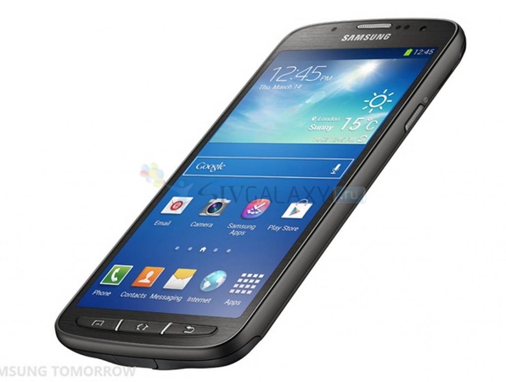 Samsung Galaxy S4 Active - фото лицевой панели