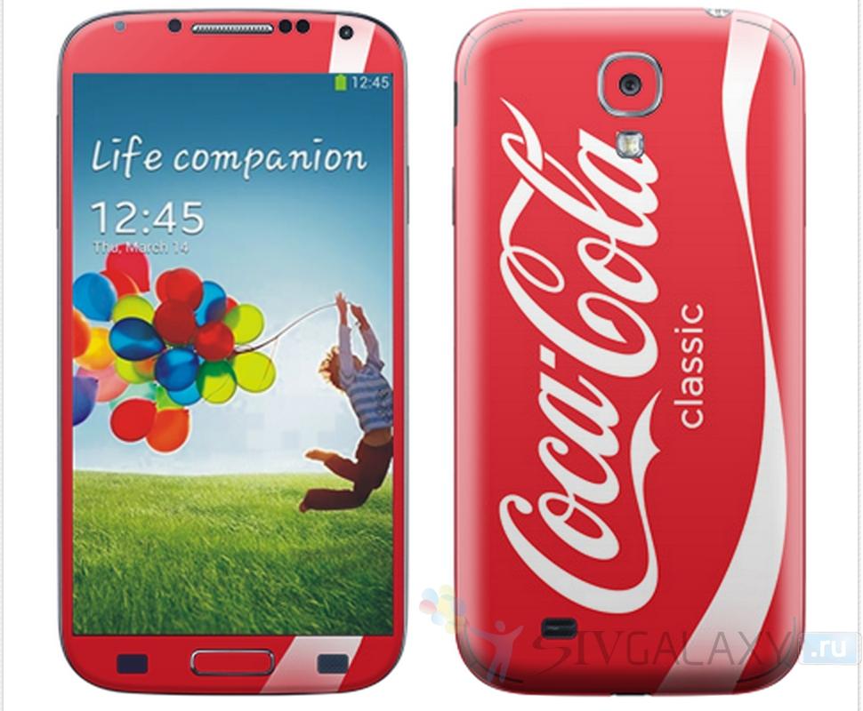 Виниловые наклейки для Samsung Galaxy S4