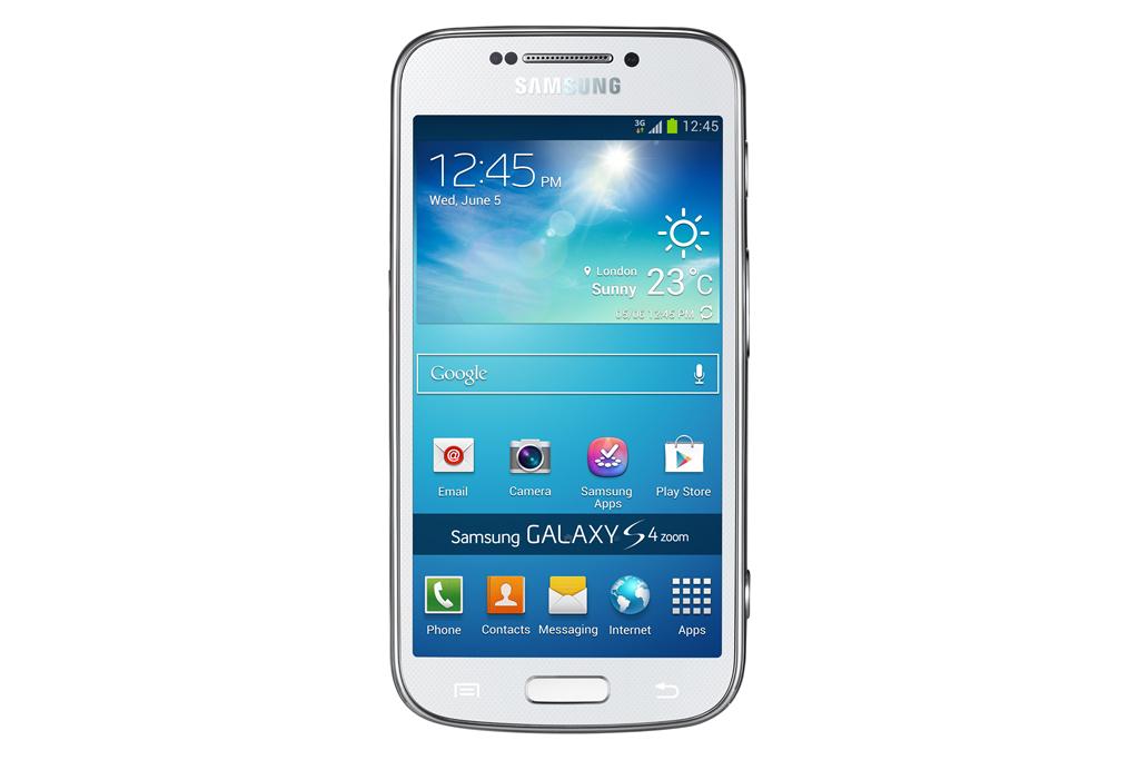 Samsung Galaxy S4 Zoom - лицевая панель