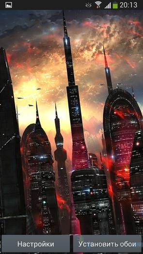 Space Colony - красная колония
