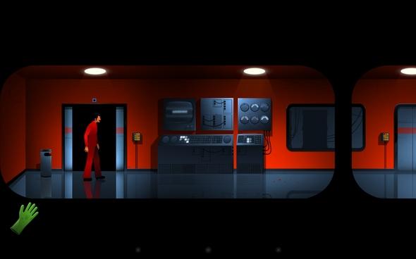 Квест The Silent Age Episode 1 - мрачная комната