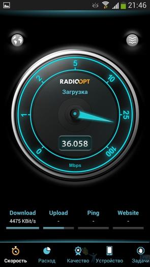 Traffic Monitor - замер скорости интернет