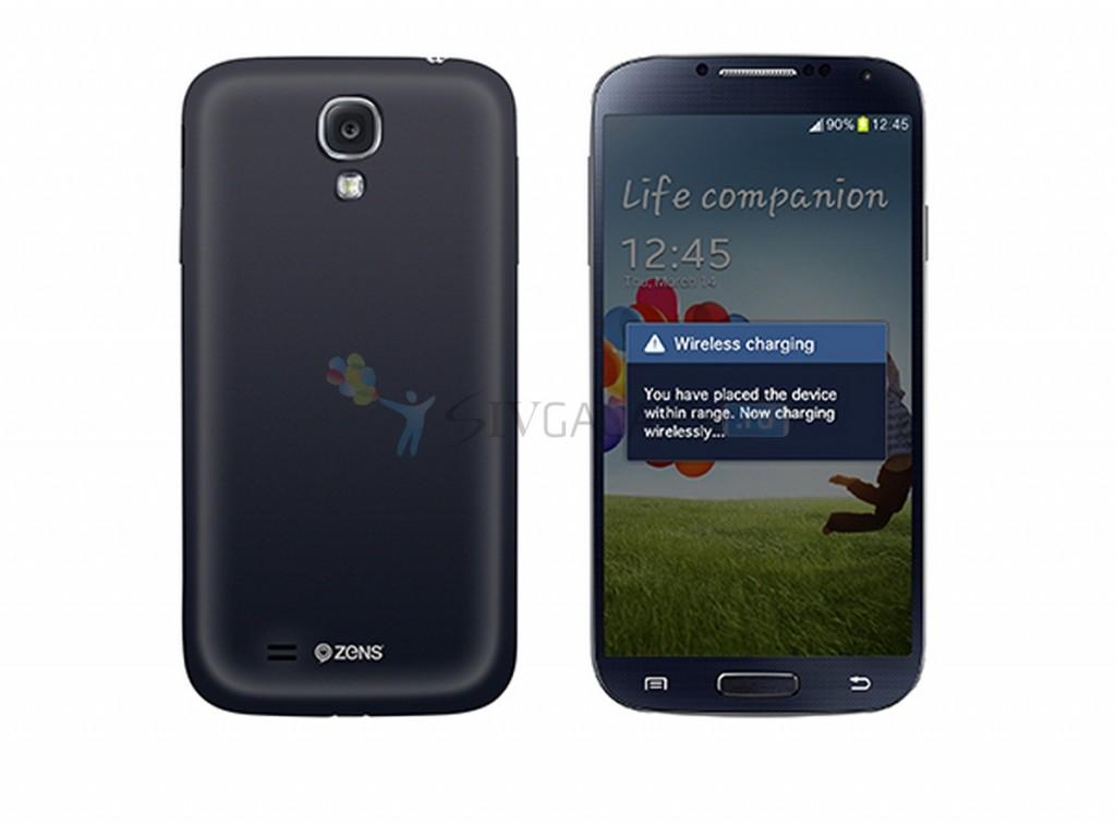 ZENS - беспроводная зарядка для Galaxy S4