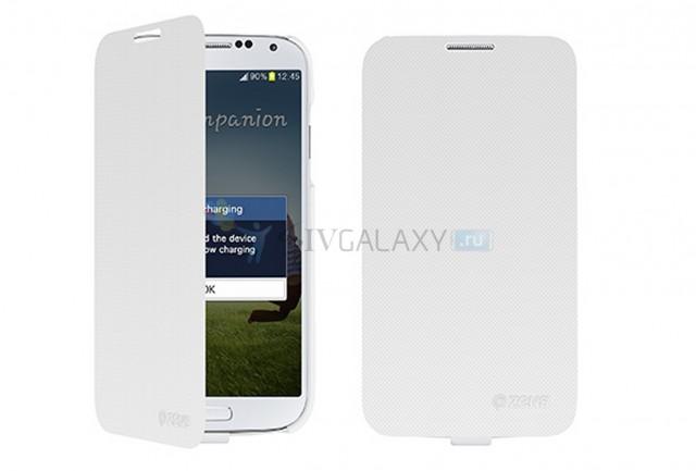 ZENS - беспроводная зарядка для Galaxy S4 - белая