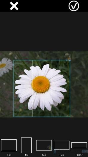 XnExpress Camera Pro - обрезка