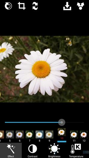 XnExpress Camera Pro - фильтры и опции