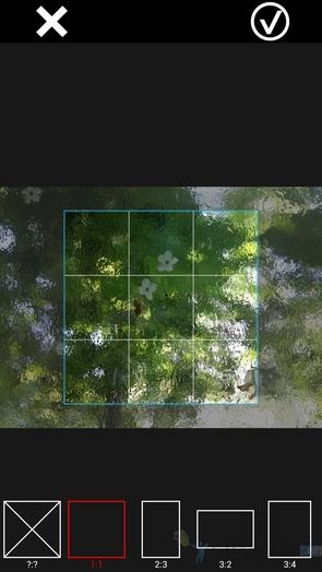 XnExpress Camera Pro - кроп фото