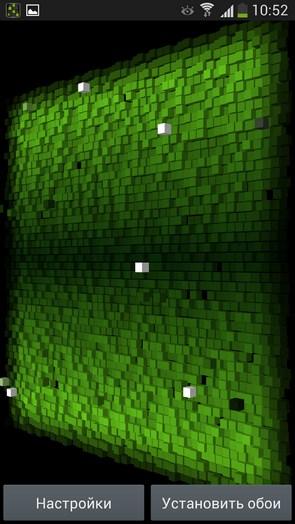 Cube City 3D Pro - анимированные обои на Galaxy S4