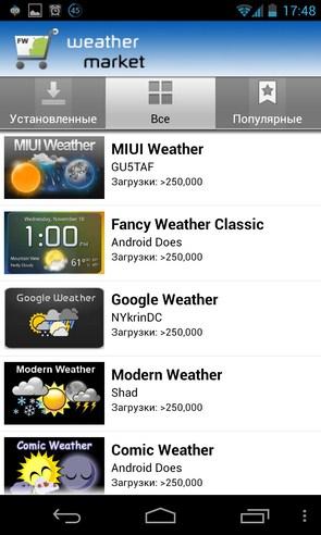 Fancy Widgets - виджеты на Samsung Galalxy S4