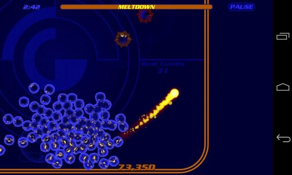 Fireball SE  игра на Galalxy SIV