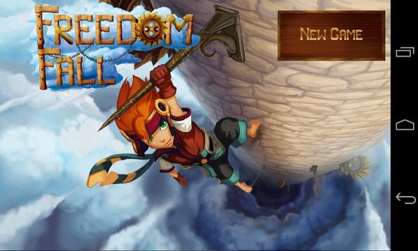 Freedom Fall - аркада на Samsung Galaxy S4