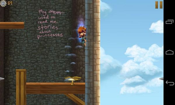 Freedom Fall - игра на Галакси С4
