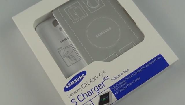 Samsung Galaxy S4 Wireless S Charger - распаковка и обзор
