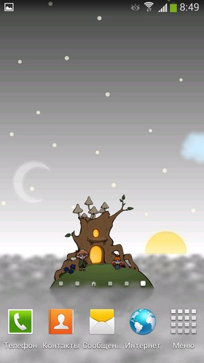 Home Tree Wallpaper - анимированные обои на Samsung Galaxy S4