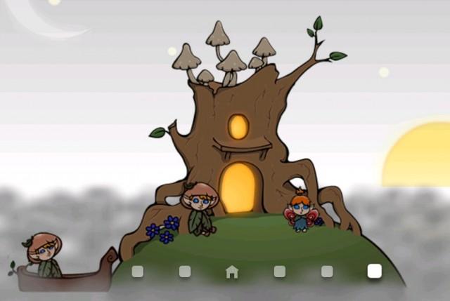 Home Tree Wallpaper - живые обои на смартфоны Android