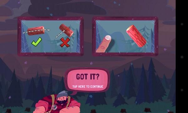 Jack Lumber - игра на Android