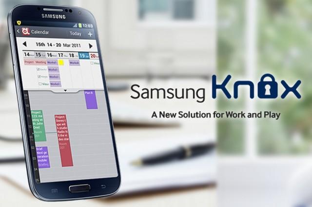 Knox на Galaxy SIV I9505