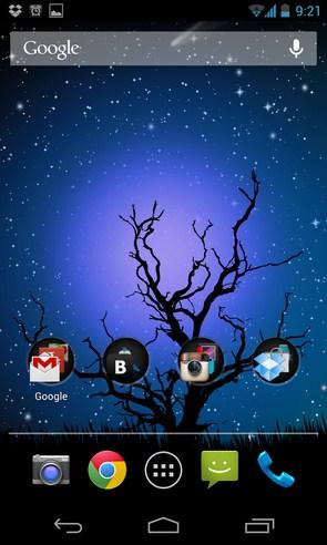 Nature Pro HD Live Wallpaper - анимированные обои на Galaxy S4