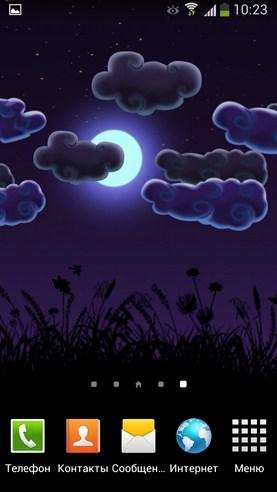 Night Nature HD - интерактивные  обои на Galaxy S4