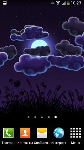 Night Nature HD - живые обои на Samsung Galaxy S4