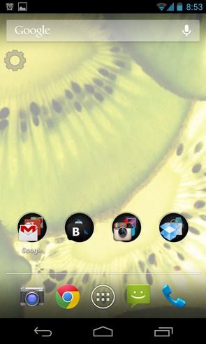 Orange - интерактивные обои на Android