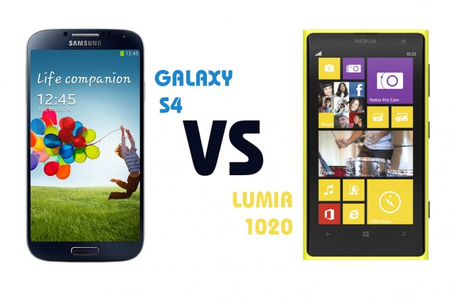 Nokia Lumia 1020 vs Samsung Galaxy SIV - видео