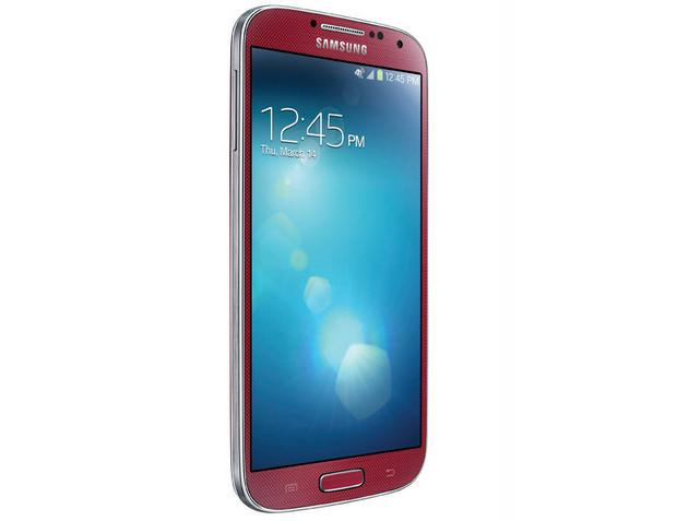 Galaxy S4 Mini Red Aurora