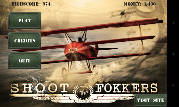 Shoot The Fokkers - шутер на Samsung Galaxy S4