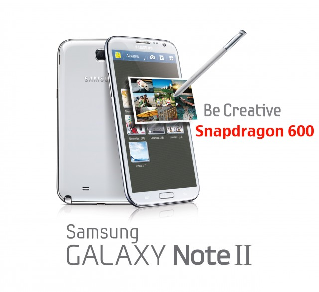 Samsung Galaxy Note II GT-N7108 анонсирован