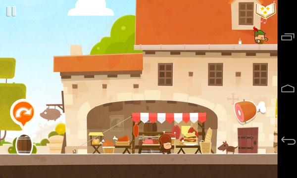 Tiny Thief - игра головоломка на Galaxy S4
