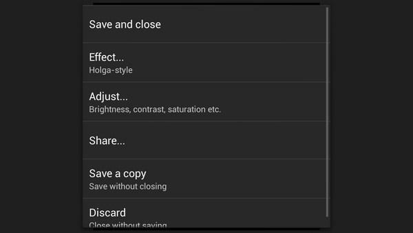 Vignette - приложение на Samsung Galalxy S4