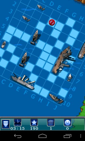 Warships - логическая игра на смартфон Галакси С4