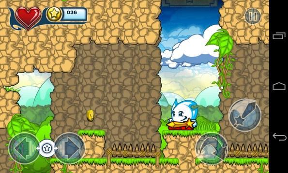 White & The Golden Sword - игра на смартфоны Андроид