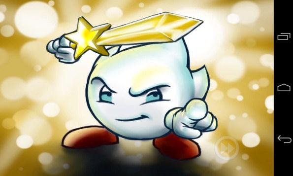 White & The Golden Sword - игра на Android