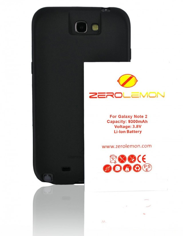 Аккумулятор ZeroLemon на 9300 мАч для Samsung Galaxy Note 2