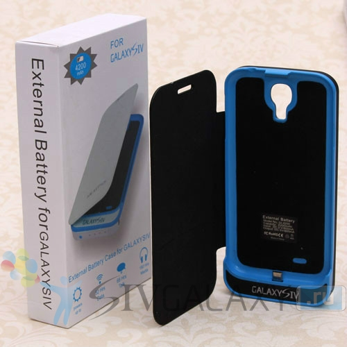 Аккумулятор для Galaxy S4 на 4200 мАч - черный