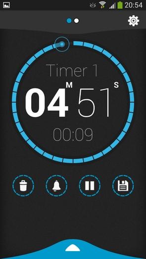 Beautiful Timer - хорошая замена таймеру в Samsung Galaxy
