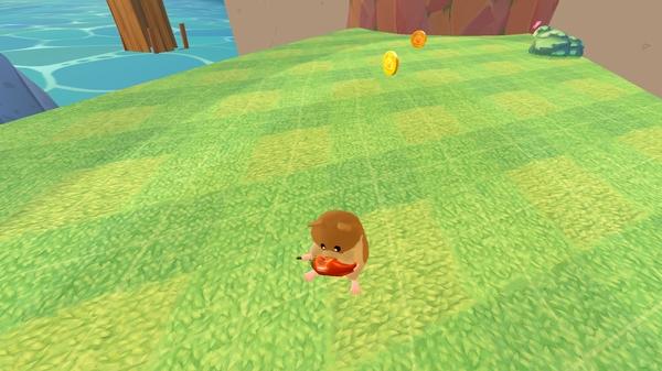 Boom Boom Hamster Golf - хомяк