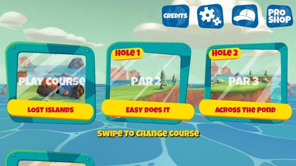 Boom Boom Hamster Golf - уровни