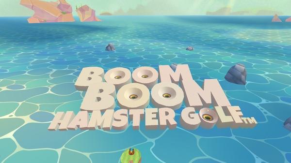 Игра Boom Boom Hamster Golf
