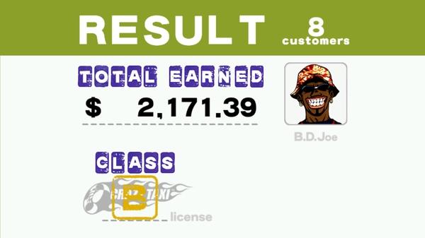 Игра Crazy Taxi 3D - победа