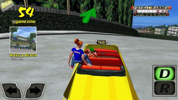 Игра Crazy Taxi 3D для Android